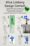 Alice Limberg Design Contest by Silent-Sid