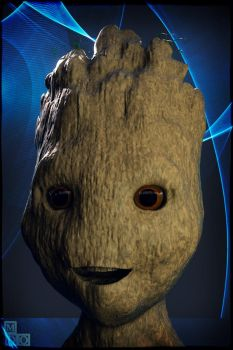 Baby Groot by MDO2010