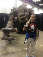 Me with the Rancor by Simpsonsfanatic33
