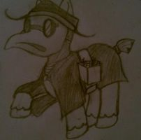 My little plague doctor pony! by Cinderbutt
