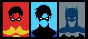 Evolution of Dick Grayson (pre New 52) by phil-cho