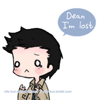 Cas is lost u3u by Nile-kun