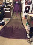 Dark Elsa Cape WIP by Seras-Loves-Master