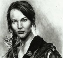 Katniss Everdeen by mynamescrizelle