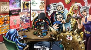 League of Legends - Zoo Poker by waterpieces