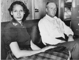 Mildred Loving and her husband by HalfbreedxEnthusiast