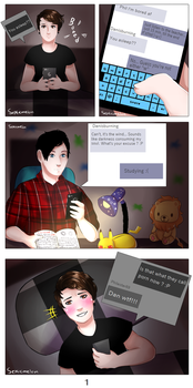 Darkness ... pg1 by SepticMelon