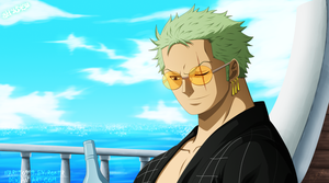 ZORO-DE-(One-Piece) by NARUTO999-BY-ROKER