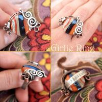Girlie Ring by popnicute