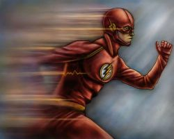The Flash by micahloyed