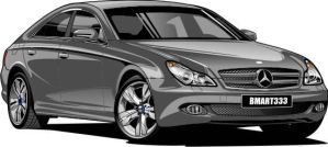 2009 Mercedes CLS by Bmart333