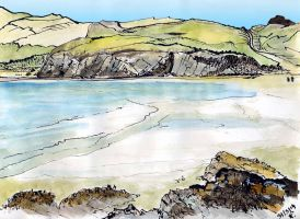 tide out Balnakeil bay by merearthling