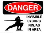 Invisible Cyborg Ninja's by Qpacman