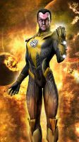 Sinestro Injustice Gods Among Us by JPGraphic