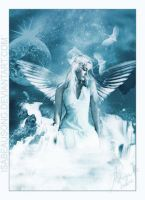 Angel on the water by DesigningDivas