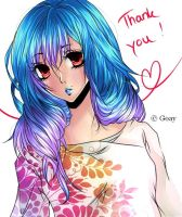 Thank you OwO by Goay