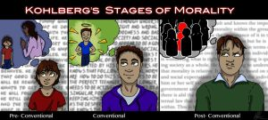 Kohlberg's Stages of Morality by psycobabble402