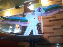 Princess Celestia Balloon Restaurant by NoOrdinaryBalloonMan