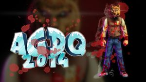 AGDQ2014 Hot Line Miami wallpaper by koyote974