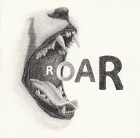 ROAR - Alternative Cover by whispering-She-Wolf