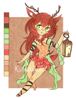 Fawn Adopt [CLOSED] by Kunamei