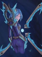 Frostblade Irelia by birdy767