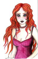Red Head no.2 by Two-T
