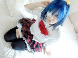 Rikka Takanashi Cosplay by MaryMagika
