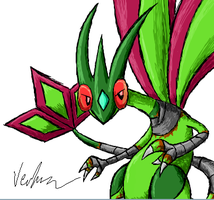 Another pic of that Flygon by Kaitall