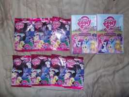 My Little Pony Blind Bags and The DVD by Galvan19