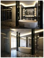 Master Bathroom by Yvesanty
