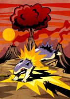 Typhlosion hardcore by elvereth
