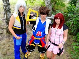 Kingdom Hearts II - This time we'll fight together by AmAi-Nayami