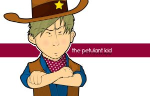 the petulant kid by the-dumb-waiter