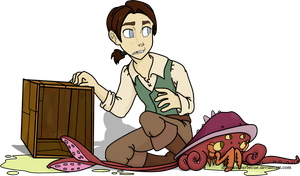 Jim Hawkins by dinosaurbarbecue