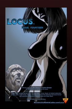 Locus 14 inside front cover by Adam-Black