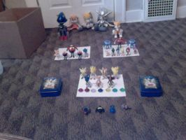 My Sonic Merchandise Collection (4-20-12) by ShadowTheHedgie1997