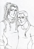 Xaldin and Xigbar by StitchedinMack