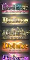 10 DeLuxe Photoshop Layer Styles C3 by MuzikizumWeb