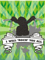 I Will Rock You All by ajiebash
