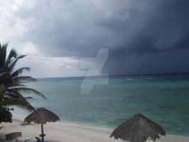 TME Akumal, Mexico: The Storm by Namyr