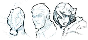 Faces by SketchesLikeaBoss