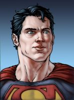 Superman by monstrous64