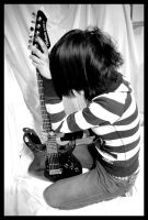 guitar and me by Damned-Tear