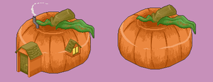Pumpkin Patch by Kingfisher-Gryphon