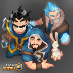 wizards of clash royale by ninjakimm