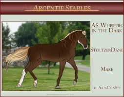 30 AS Whispers in the Dark- SOLD by Argentievetri