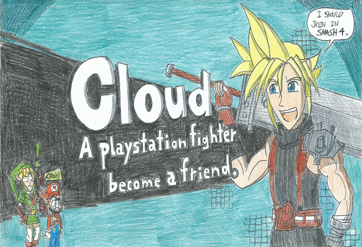 Cloud Strife confirmed joins to SSB4!! by FelixToonimeFanX360