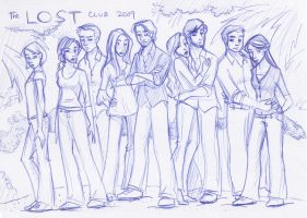 The LOST Club 2009 by kuabci
