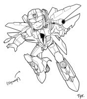 Ongoing Chibi Skywarp by Tyr44